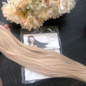Bellami ash blonde wrap ponytail